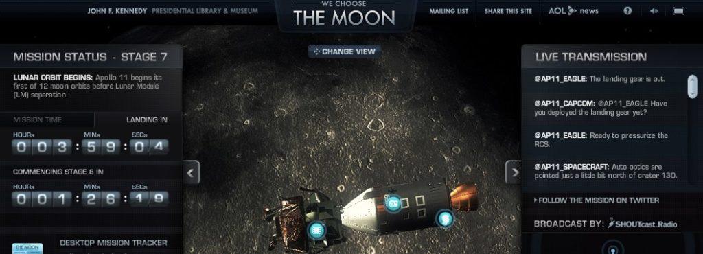 Wo sind die NASA und der Mond auf Facebook?