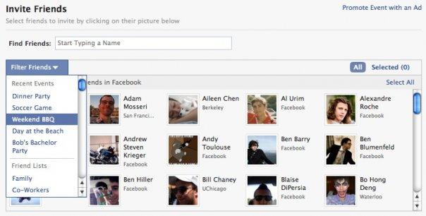 Kurzmitteilungen 8 – Neues Feature für Events, Ist Facebook an Spotify interessiert?, Crowd-Sourced Translation Patent