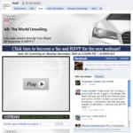 Facebook Page | Audi