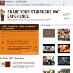 Facebook Page | Starbucks