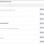 Neue Facebook Privatsphäre Einstellung