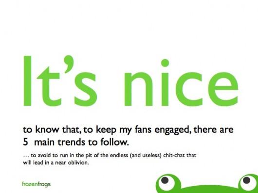 Engagement Trends (Quelle: Frozenfrogs)
