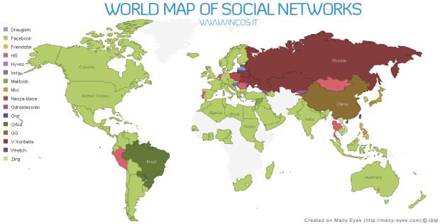 20% mehr Scheidungen wegen Facebook? – Facebook Status Trend – Weltkarte verdeutlicht das Wachstum von Facebook – Neue Datenschutzklage (Kurzmitteilungen 21)