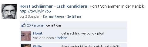 Host Schlämmer Facebook Page (Quelle: Facebook.com)