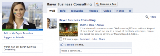 Bayer Business Consulting Fan Page
