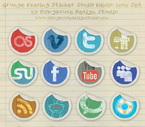 10x Facebook Icons – Social Media Grafik Sammlungen (V2)