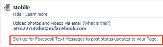 Mobile Facebook Statusupdates und Uploads (Whitepaper)