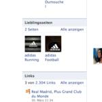 Facebook Adidas Fanpage