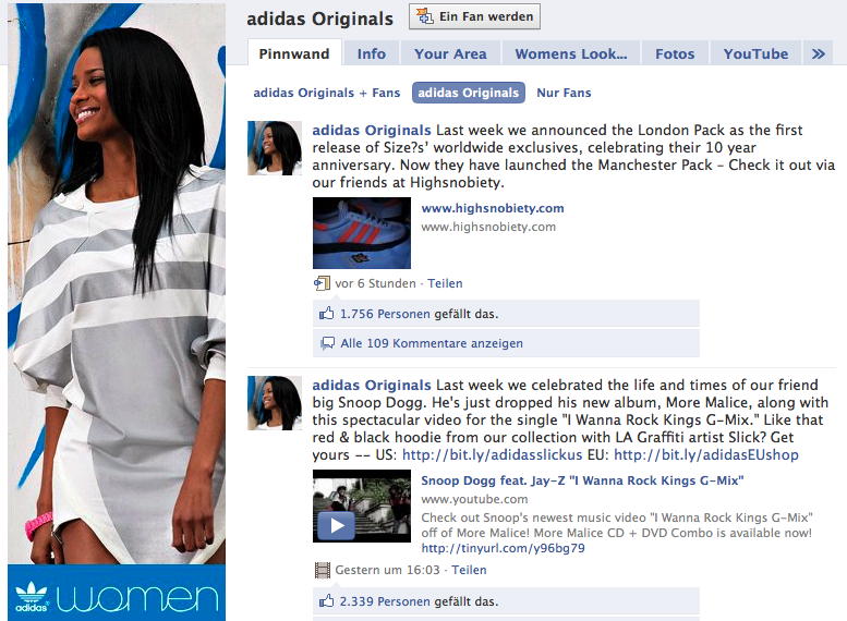 Best Practice: Adidas Originals