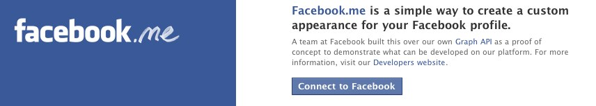 Facebook-me macht den Facebook Stream zum Mini-Blog