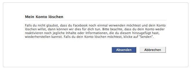 Wusstest du schon … (Teil 5) – Facebook Account löschen (Updated)