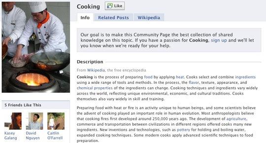 Jedes Interesse, jede Stadt uvm. wird zu einer Facebook Community Pages – Details und Features der neuen Pages und Connections