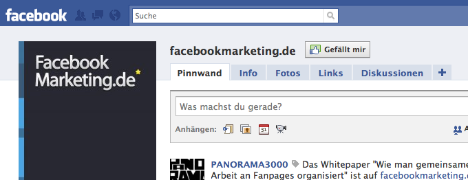 """Like""-Button für Fanpages ist live – Update"