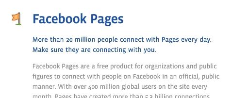 Kurz & Gut: Der neue offizielle Facebook Pages Leitfaden (Englisch)