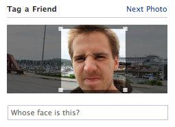 Gesichtserkennung in Facebook Photos