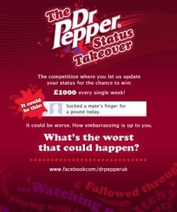 Dr. Pepper Facebook