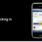 "Facebook Places ""Checking In"" auf dem iPhone"