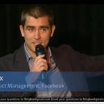 Facebook Places Ansprache von Chris Cox