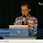 Facebook Places Michael Sharing (Product Manager)