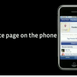 Facebook Places Page auf dem iPhone