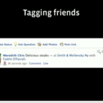 Facebook Places Tagging Friends