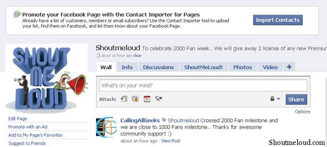 Facebook testet Kontaktimporter für Pages
