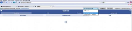 Facebook den Zugriff erlauben