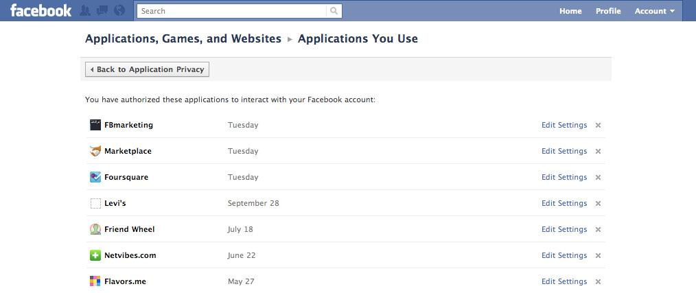 Neu: App Dashboard – Neue Ansicht für genutzte Anwendung