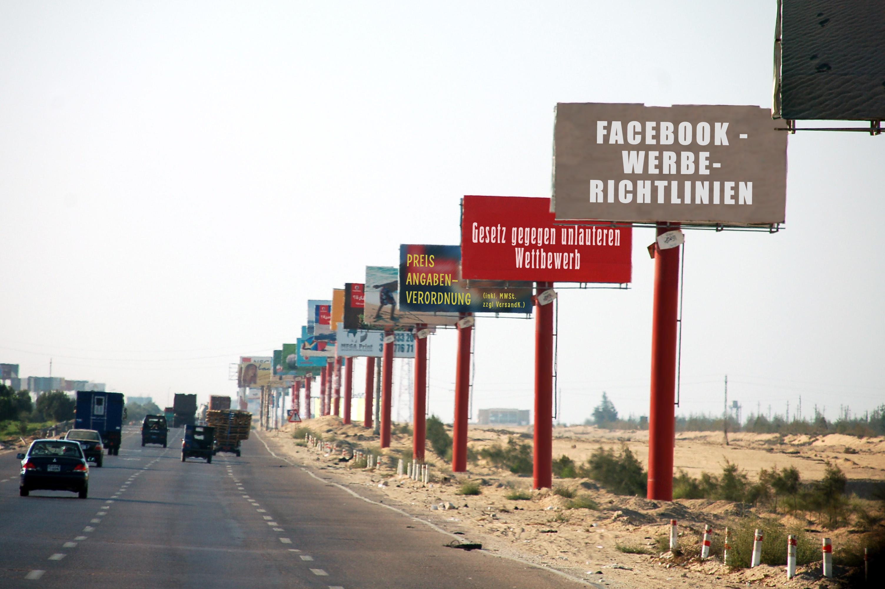 Werbeinhalte und -Anzeigen | Rechtliche Stolperfallen beim Facebookmarketing Teil 8