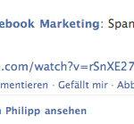 Facebook Gruppen - Nachricht im Newsfeed