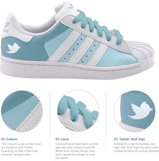 Facebook & Twitter Sneaker