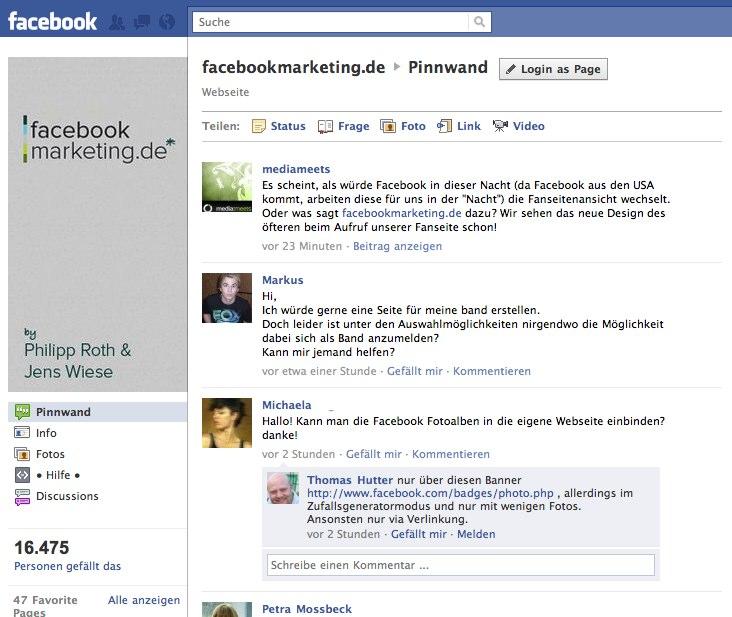Neues Design der Facebook Pages ist online – Alle Änderungen auf einen Blick