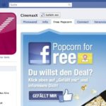 CinemaXX Tab zum Theme Facebook Deals