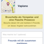 Vapiano Deal auf dem iPhone