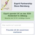 Esprit Angebot in Nürnberg auf dem iPhone