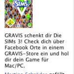Gravis Facebook Anzeige zum Angebot