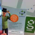 Gravis Gutschein für Sims 3 den man nach dem Claim erhält