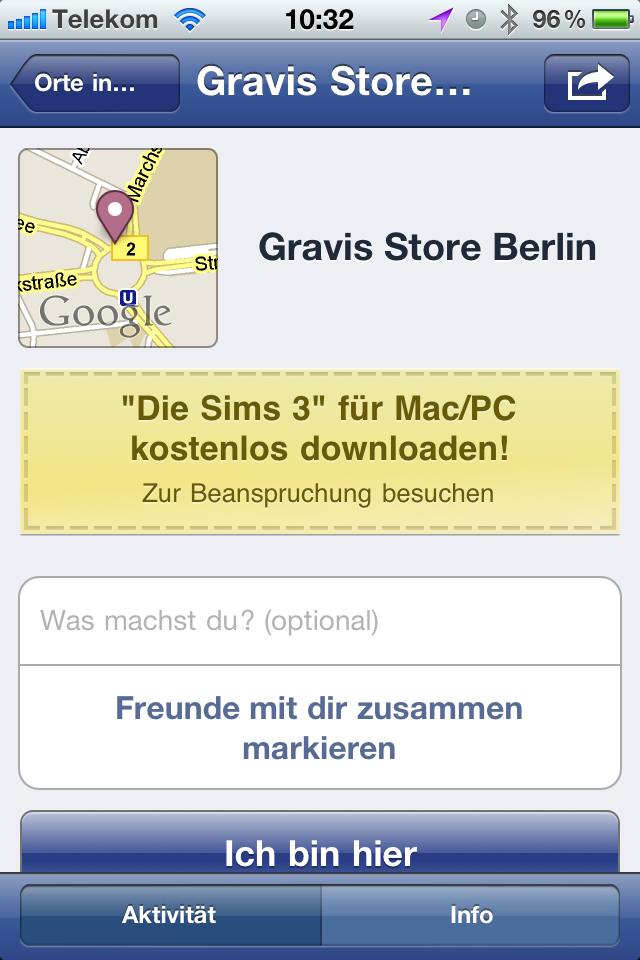 Facebook Angebote & Deals – erste Screenshots