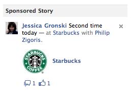 """""""Sponsored Stories"""" – Facebook macht aus den Aktivitäten der Freunde ein neues Werbeformat"""