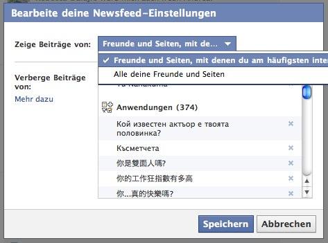 Freunde werden aussortiert? Wo sind denn nur alle Facebook Freunde hin? Facebook zensiert… – Große Aufregung um eine Änderung, die gar keine ist…
