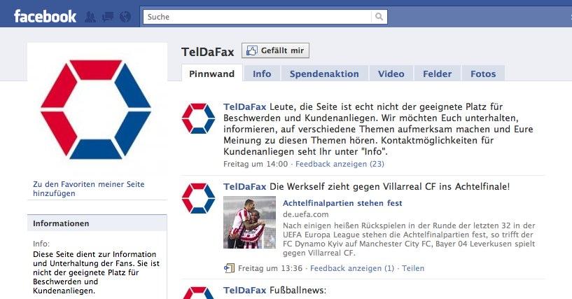 Wer entscheidet in welcher Form auf Facebook kommuniziert wird? Das Unternehmen oder der Kunde? (Sender oder Empfänger?)