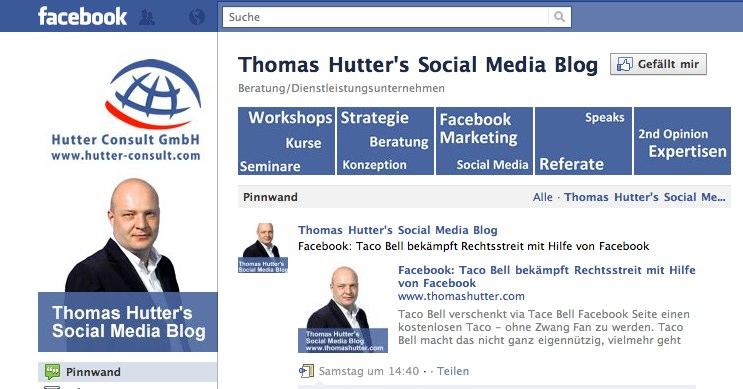 Neue (eingeschränkte) Facebook Seiten Galerie kreativ nutzen