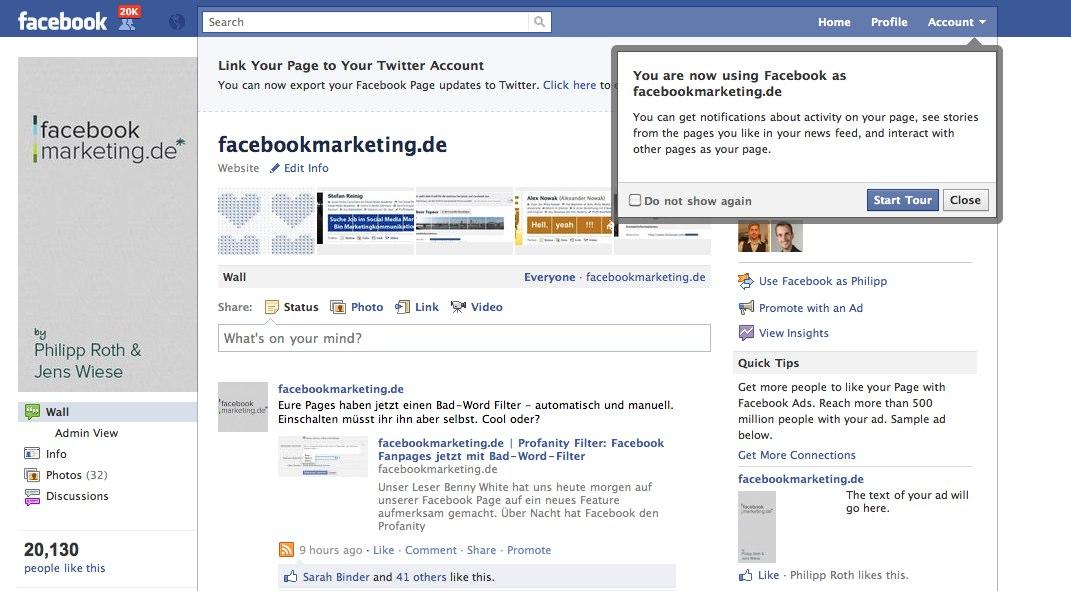 Die neuen Facebook Pages/Seiten sind online – das größte Update in der Geschichte der Facebook Pages