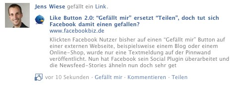 Full-Story nach Like-Button klick