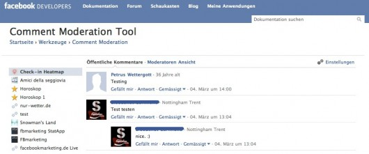 Moderations-Tool