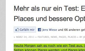 """Likes / """"Gefällt mir"""" müssen jetzt bestätigt werden! Schutz vor Spam… (Updated)"""
