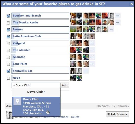 Die neue Facebook Questions Anwendung