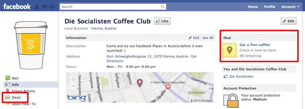 HACK: Facebook Check-In Deals jetzt in Deutschland und Europa nutzen!