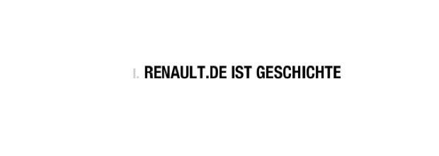 Renault ist mutig – Die klassische Homepage verschwindet und wird zur Facebook Page