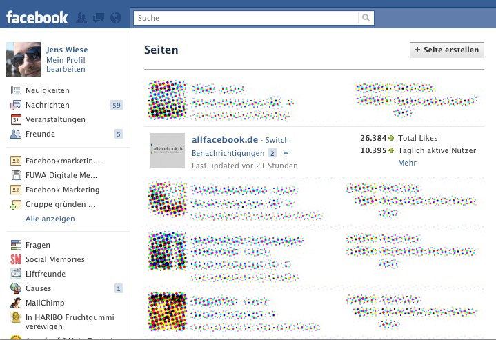 Neu: Facebook Seiten Dashboard